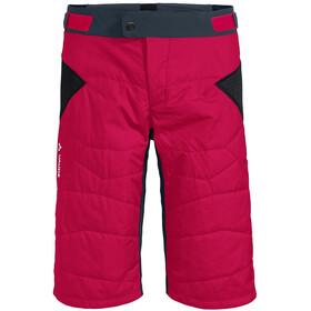 VAUDE Minaki III Pantalones Cortos Hombre, cranberry/steelblue